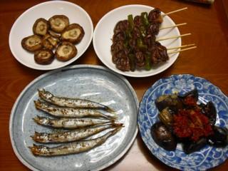 最初の料理