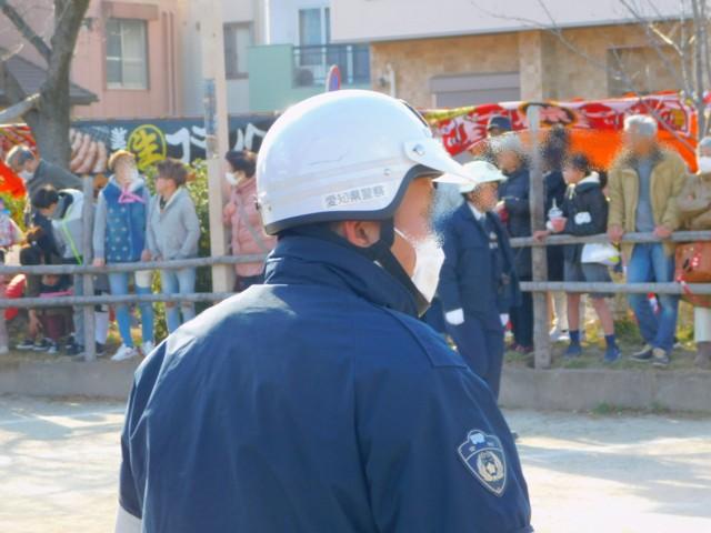 愛知県警の皆さん