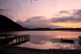 田貫湖夜明け前