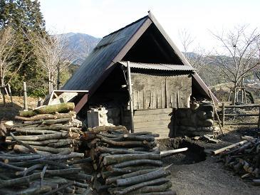 南長野炭焼き小屋