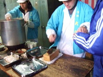 加藤嘉八郎酒造湯豆腐