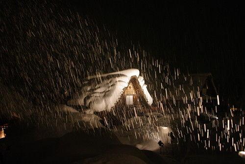 白川郷11夜景