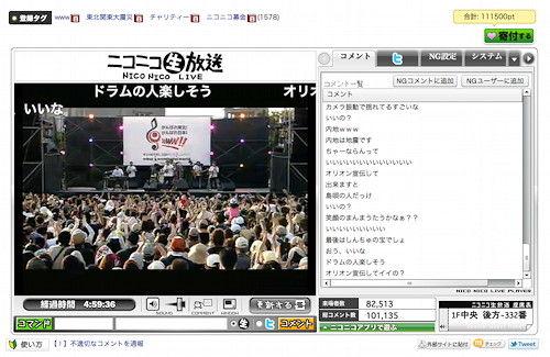 東北関東大震災支援チャリティーコンサート2