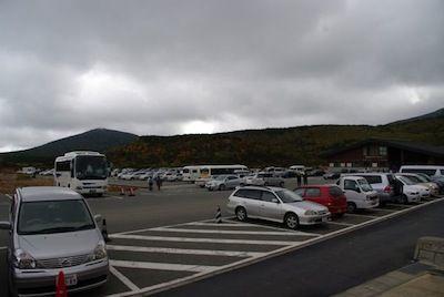 レストハウス駐車場