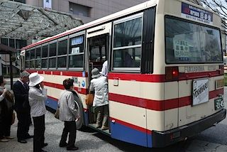 花見山バス