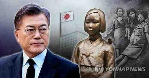 2017_5_10 日官房、文大統領就任初日慰安婦合意履行要求