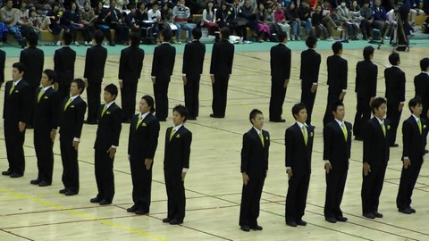 2117_4_19_日本体育大学 集団行動