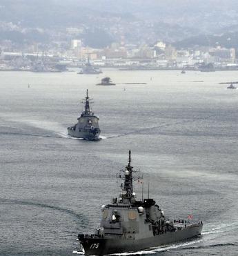 日、東海迎撃ミサイル搭載イージス艦4隻→8隻拡大推進