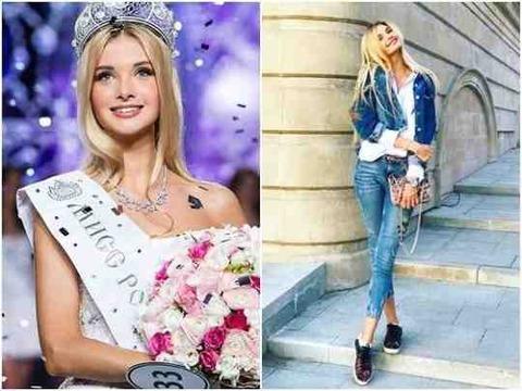 ミスロシアの「歴代級美貌」に。SNSまで人気爆発1