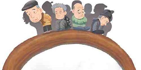 2075年韓国、老人扶養負担は「最高」所得保障は「最低」