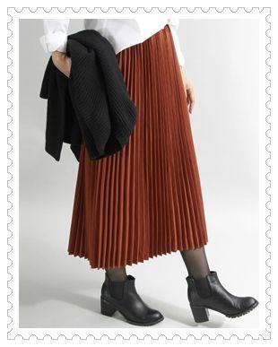 プリーススカート