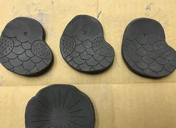 梟豆皿成形