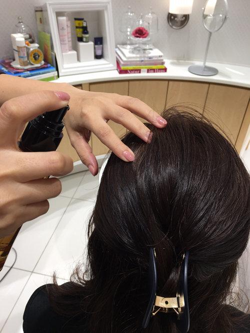 頭皮カウンセリング