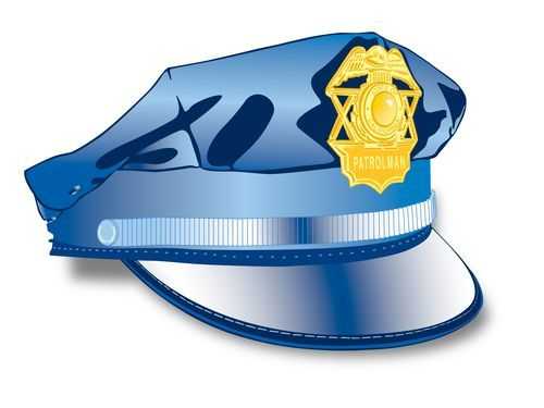 警察の看板00