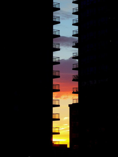 日暮れのグラデーション01