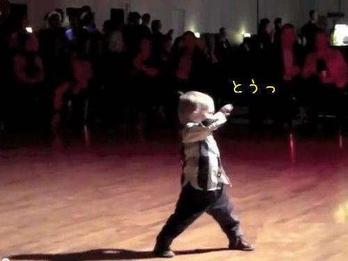 2歳のダンサー