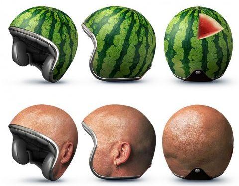 大きい頭のヘルメット02