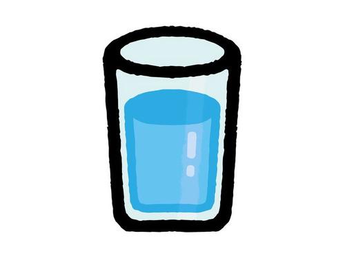 コップの水はどんな重さ00