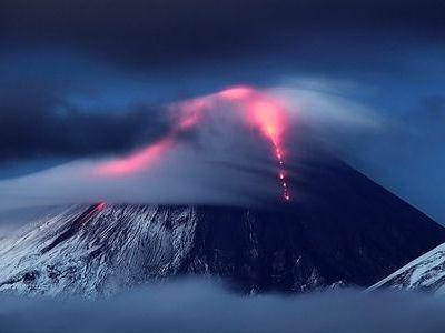 クリュチェフスカヤ火山00