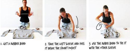 パーカーの使い方10