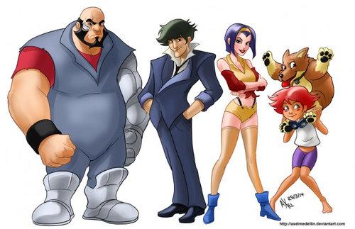 アメコミ作者が日本の漫画キャラクターを描いたら06