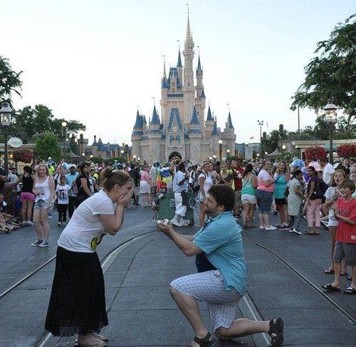 ディズニーでプロポーズ06