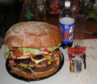 巨大ハンバーガー13