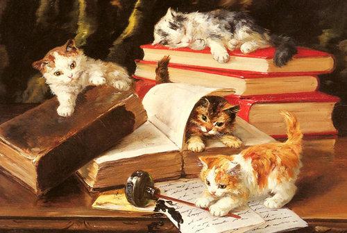 有名画家の描いた猫12