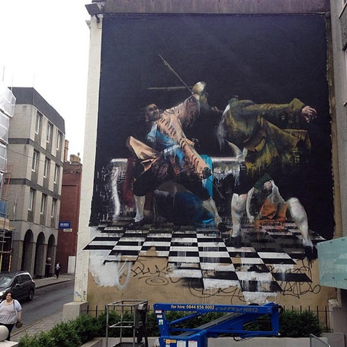 ロンドンのストリートアート02
