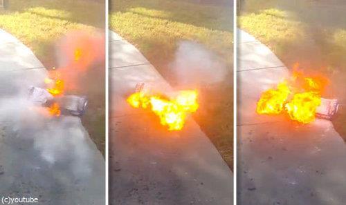ホバーボード爆発09