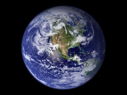 地球が丸いことがわかる鉄塔の写真