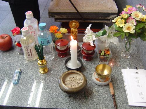 日本で猫の仏葬を体験した03