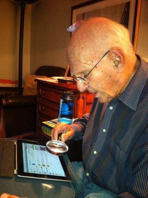 おじいちゃんがiPad01