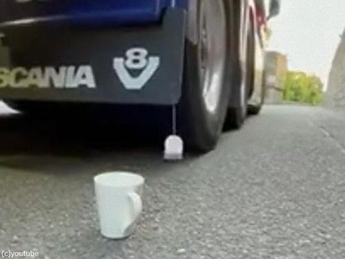 トラックで紅茶を淹れる00