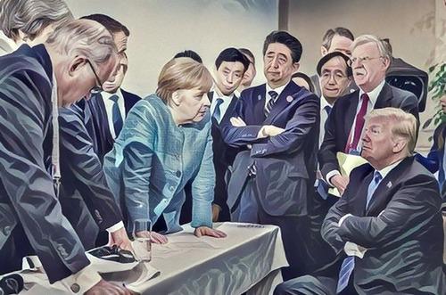 G7での張り詰めた空気01