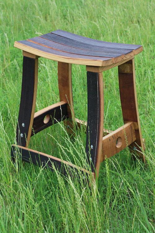 ワイン樽から作った家具06