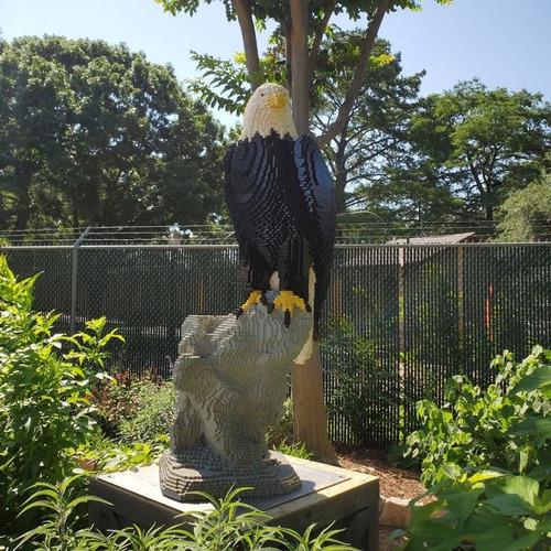 サンアントニオ動物園がレゴの動物を展示07