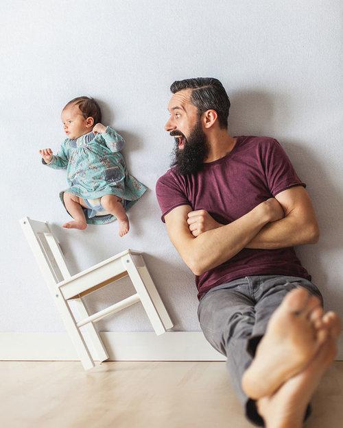 赤ちゃんの浮遊写真07
