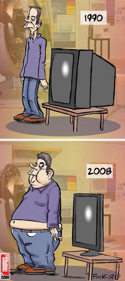 薄型テレビがもたらしたもの