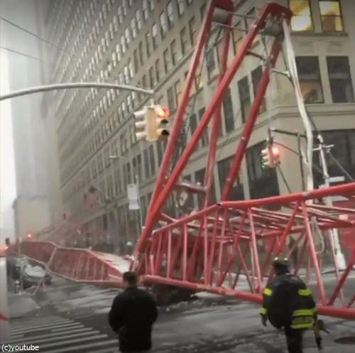 ニューヨークのクレーン転倒事故05