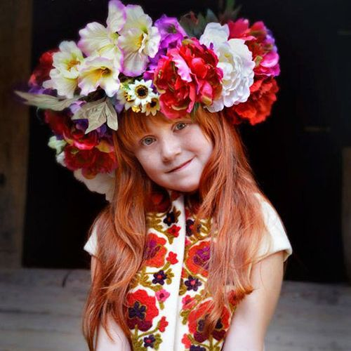 ウクライナ女性の伝統衣装07