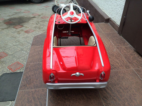 ソ連時代の子ども用のペダル車をレストア05