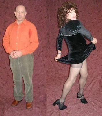 一般の男性を女装させると13