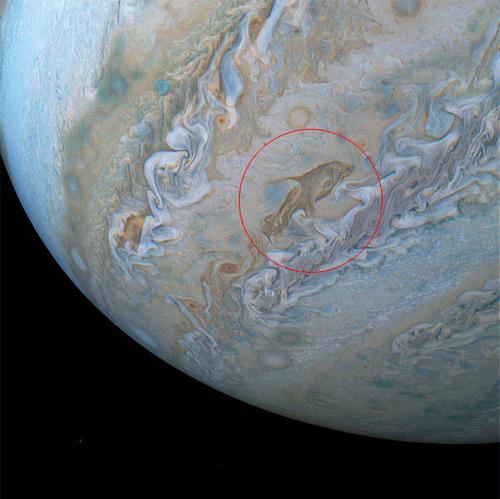 木星に巨大な「イルカ」の姿01