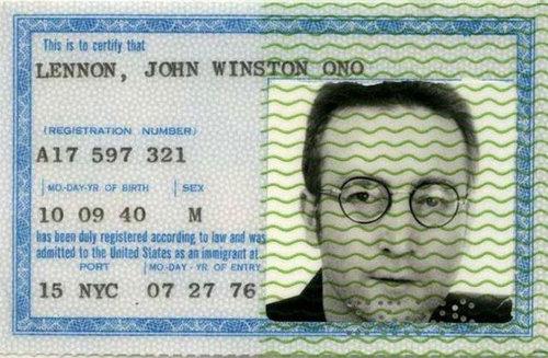 歴史上の有名人のパスポート14