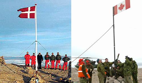 デンマークとカナダの領土問題02
