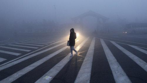 大気汚染で中国の監視カメラが無駄に01