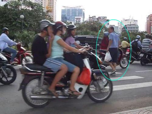 ベトナムの道路