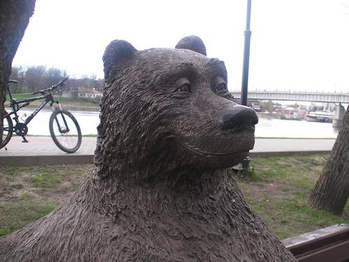 ロシアのクマの像03