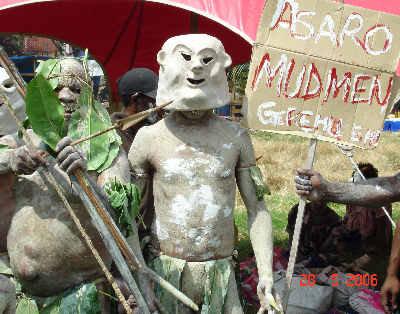 パプアニューギニアの部族04